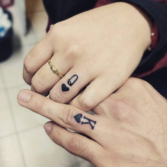 His and Hers Tattoos 85