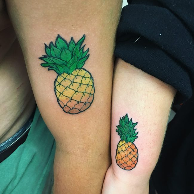 His and Hers Tattoos 86