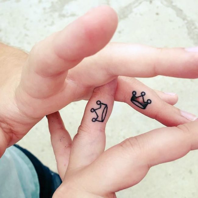 His and Hers Tattoos 92