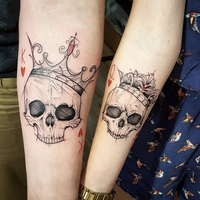 His and Hers Tattoos 96