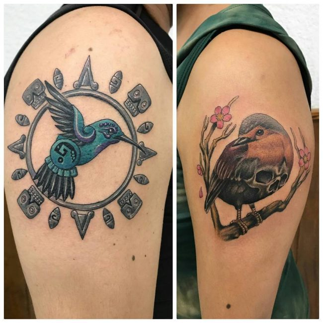 His and Hers Tattoos 97
