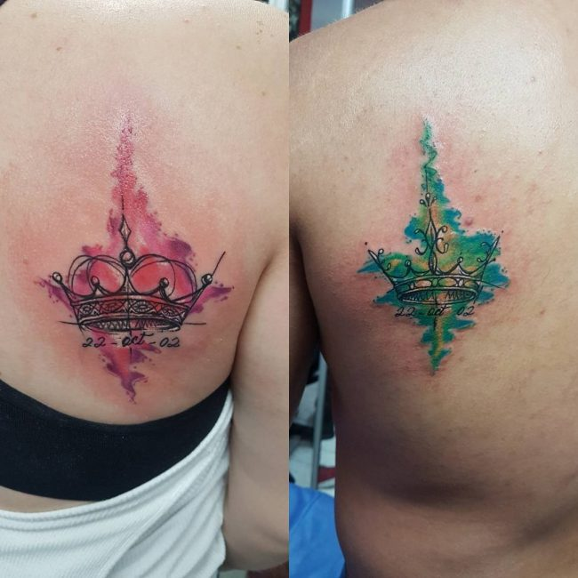 His and Hers Tattoos 99