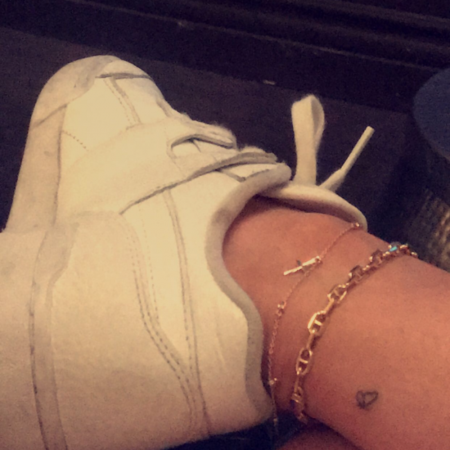 Kylie Jenner's Tattoos 11