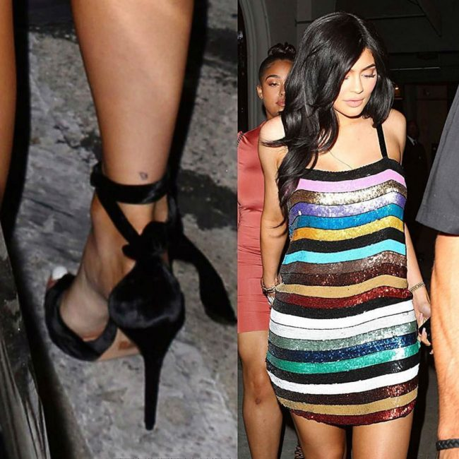 Kylie Jenner's Tattoos 13