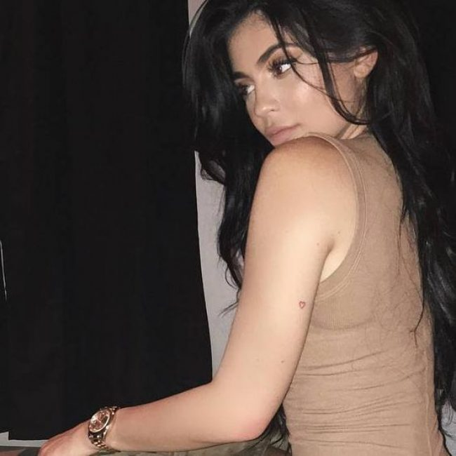 Kylie Jenner's Tattoos 6