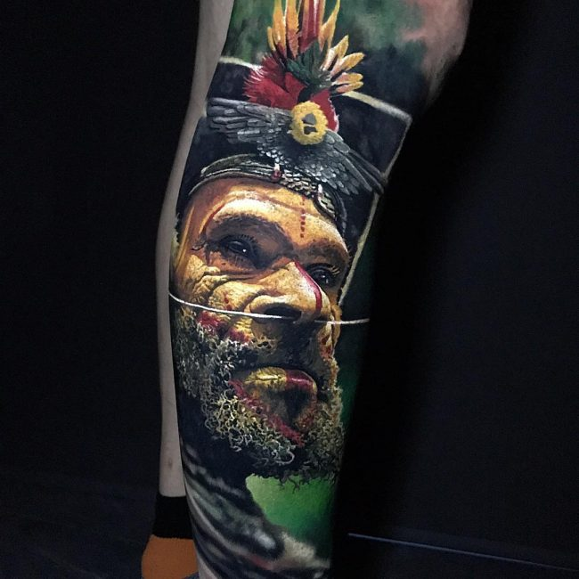 Realistic Tattoos 114