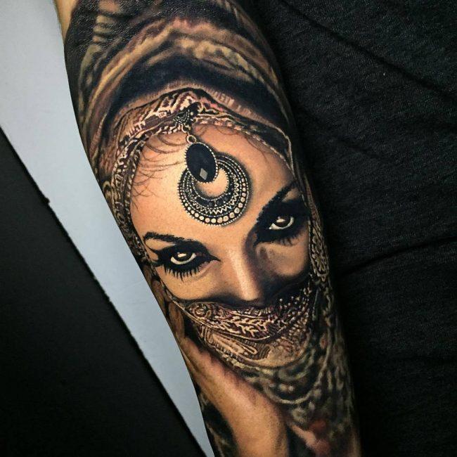 Realistic Tattoos 116