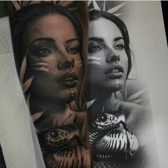 Realistic Tattoos 12