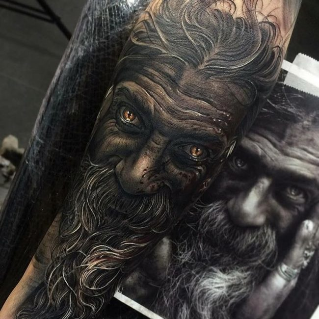 Realistic Tattoos 17