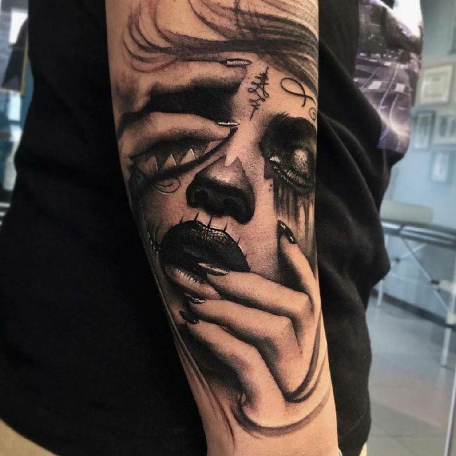 Realistic Tattoos 22