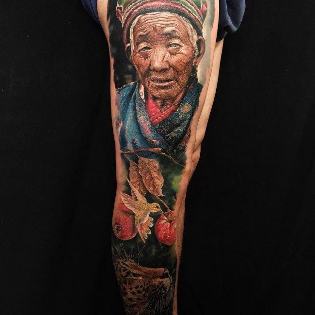 Realistic Tattoos 23