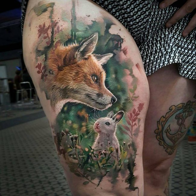 Realistic Tattoos 30