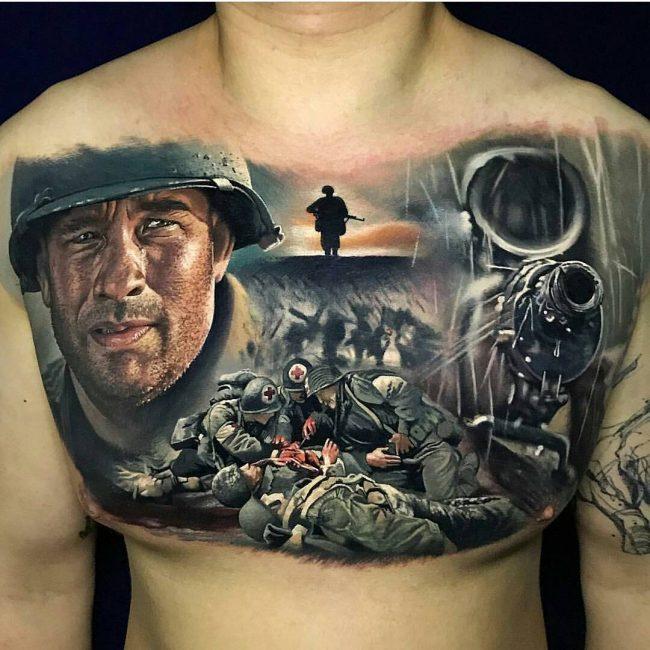 Realistic Tattoos 31