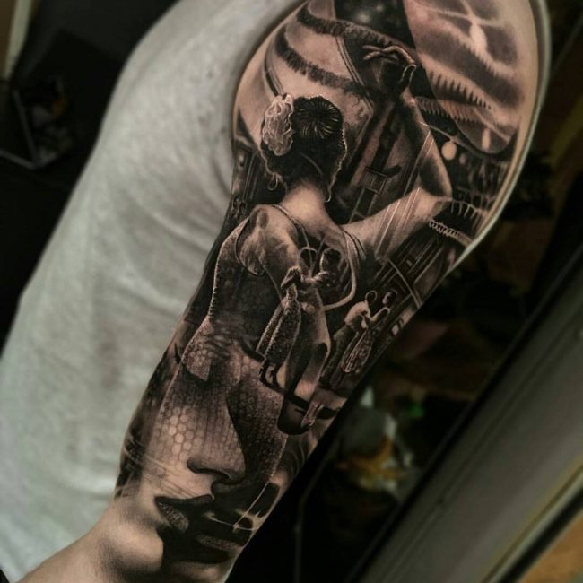 Realistic Tattoos 4