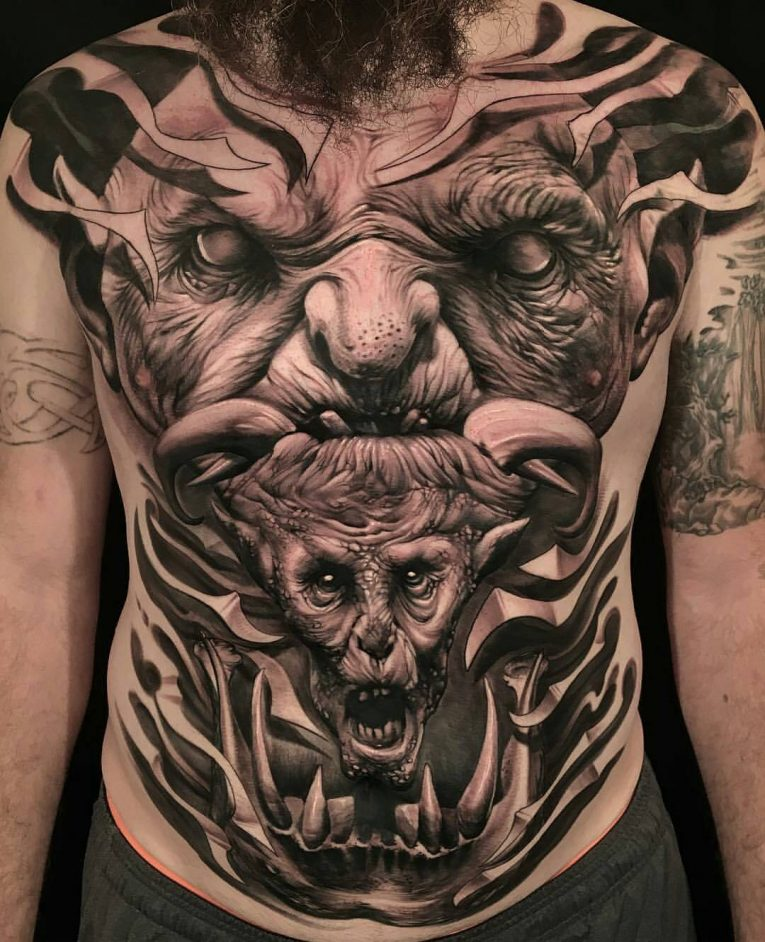 Realistic Tattoos 41