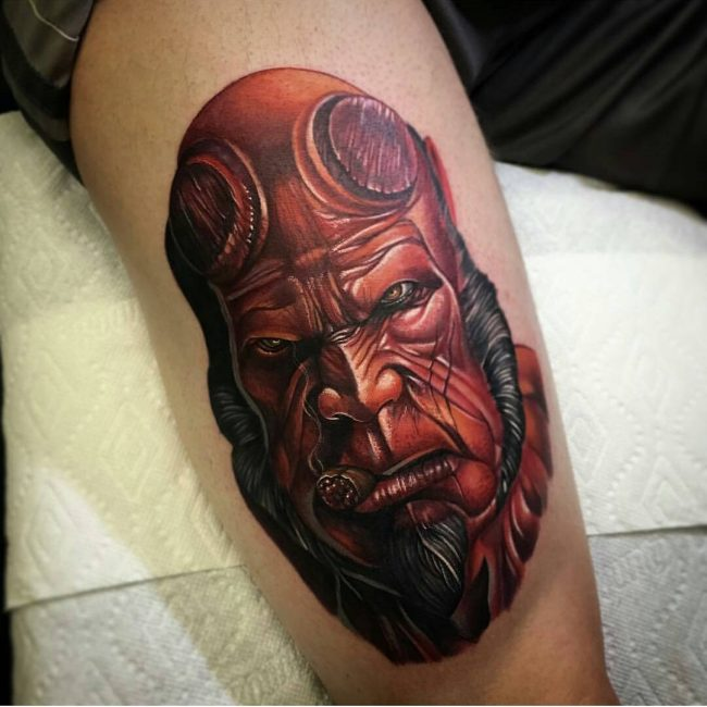 Realistic Tattoos 49