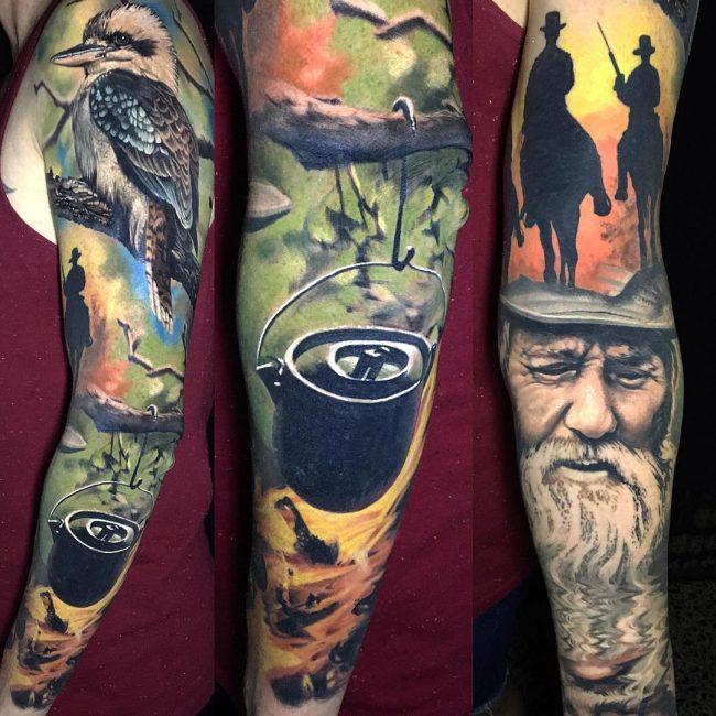 Realistic Tattoos 57