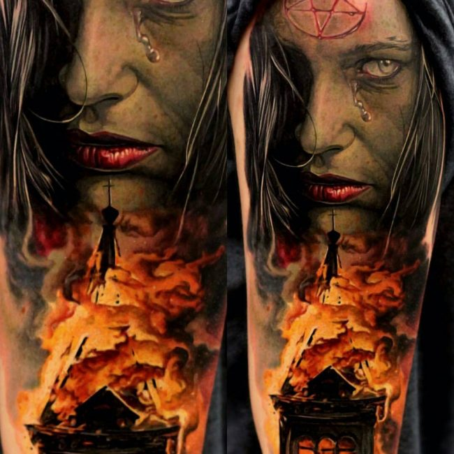 Realistic Tattoos 67
