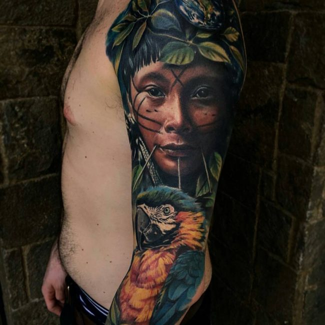 Realistic Tattoos 76