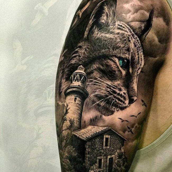 Realistic Tattoos 84