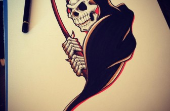95+ Horrible Grim Reaper Tattoo Designs & Meanings