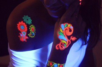 20 Incredible Glow in the Dark Temporary Tattoos – Designs and Ideas (2018)