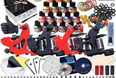 TOP 10 Professional Tattoo Kits – Best Machines & Guns & Starters in 2018