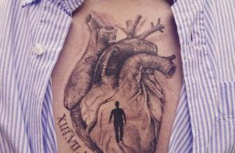 110+ Trending Anatomical Heart Tattoo Designs & Meanings – For Men & Women (2019)