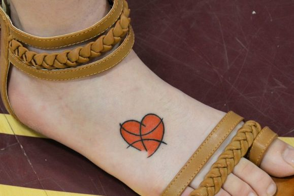 45+ Sporty Types of Basketball Tattoos Designs & Meanings — Famous Celebs (2018)