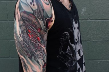 75+ Best Biomechanical Tattoo Designs & Meanings – Contemporary Life Style (2018)