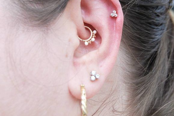 The Edgy Cartilage Piercing – 60 Best Ideas & Rules