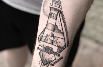 130 Delightful Lighthouse Tattoos – Keep Making Your Way