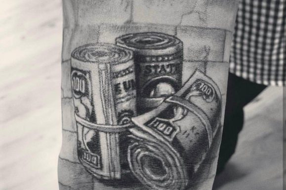75+ Unique Money Tattoo Designs & Meanings – Get It All (2020)