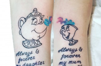 90+ Sweet Matching Mother Daughter Tattoo – Designs & Meanings (2019)