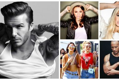 25 Famous Celebrities with Tattoos – Specially for Fans