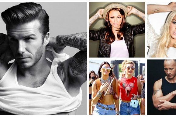 25 Famous Celebrities with Tattoos – Specially for Fans (2018)