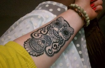 95+ Best Photos of Owl Tattoos Designs & Meanings — Sign of Wisdom (2017)