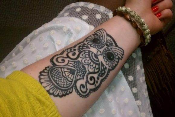 95+ Best Photos of Owl Tattoos Designs & Meanings — Sign of Wisdom (2018)