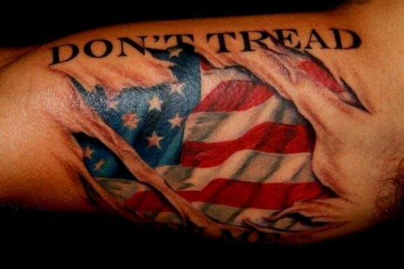 85+ Independent Patriotic American Flag Tattoos Designs & Meanings — I Love USA (2019)