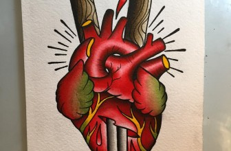 90 Trending Anatomical Heart Tattoo Designs – For Men & Women