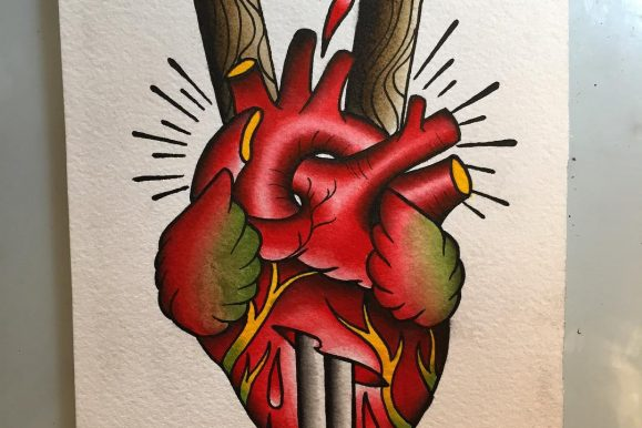 110+ Trending Anatomical Heart Tattoo Designs – For Men & Women