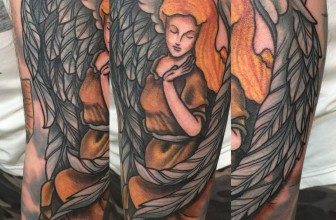 110+ Amazingly Elegant Guardian Angel Tattoos – Designs & Meanings (2018)