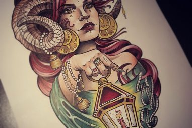 55 Creative Aries Symbol Tattoo Designs – Do You Believe in Astrology?