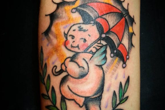 55+ Adorable Baby Tattoos Designs & Meanings – Cute and Meaningful (2019)