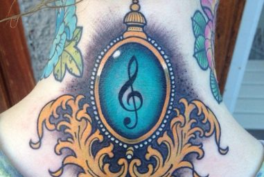 45 Awesome Back of the Neck Tattoo Designs – Way To The Mind