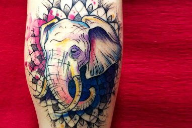 125+ Fabulous Elephant Tattoo Designs – Body Art with Deep Meaning and Symbolism