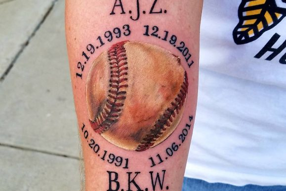 50 Sporty Baseball Tattoo Designs – For The Love Of The Game