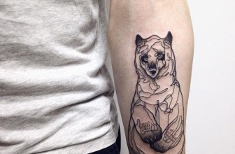 85+ Rough Bear Tattoo Designs & Meanings – Feel The Wild Nature (2018)
