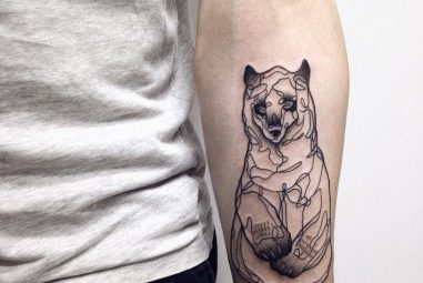 85+ Rough Bear Tattoo Designs & Meanings – Feel The Wild Nature (2017)