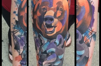 65 Rough Bear Tattoos – Feel The Wild Nature